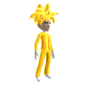 Anime Hero Suit Gold Chrome 3