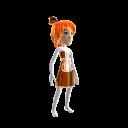 Anime Chrome Maid Brown Orange