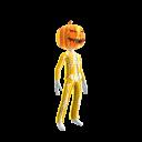 Epic Gold Skeleton Suit Org Pumpkin