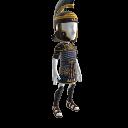 古代ローマ百人隊長の鎧