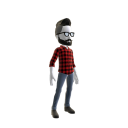 Red Plaid Hipster
