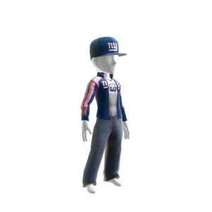 New York Giants Track Jacket and Hat