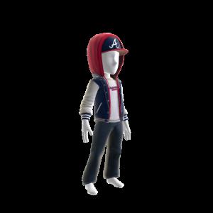 Atlanta Braves Jacket and Hat
