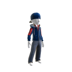 New England Team Jacket and Hat