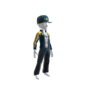 Georgia Tech Track Jacket and Hat
