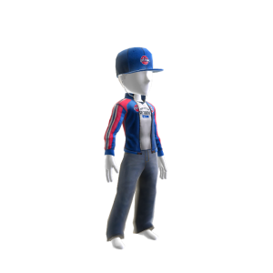 Pistons Track Jacket and Hat