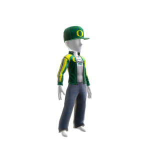 Oregon Track Jacket and Hat