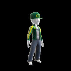 Oregon Track Jacket and Hat