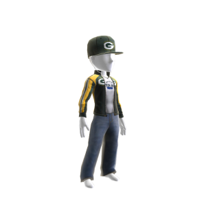 Green Bay Track Jacket and Hat