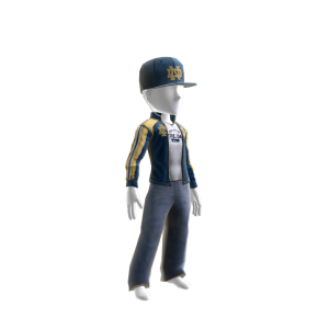 Notre Dame Track Jacket and Hat