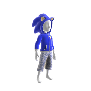 Camisola com carapuço Sonic