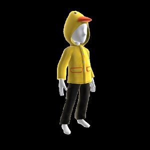 Imperméable canard