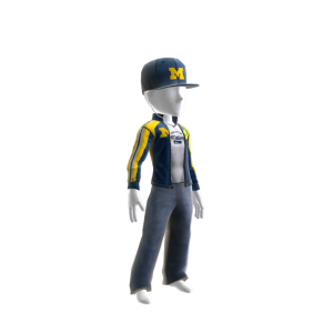 Michigan Track Jacket and Hat