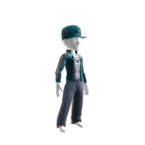 Sharks Track Jacket and Hat
