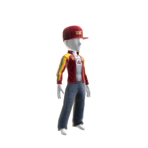 USC Track Jacket and Hat