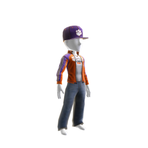 Clemson Track Jacket and Hat