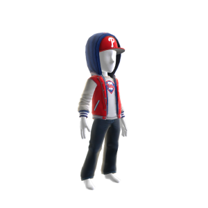 Philadelphia Phillies Jacket and Hat