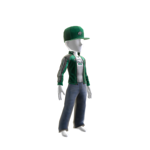 Stars Track Jacket and Hat