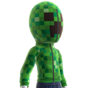 Dichtgeritste Creeper-capuchonjas