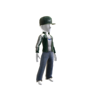 New York Jets Track Jacket and Hat