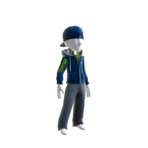 Seattle Team Jacket and Hat
