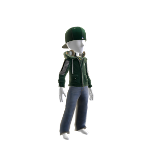 New York Jets Team Jacket and Hat