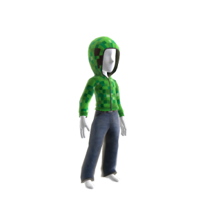 Minecraft Sweat à capuche de Creeper