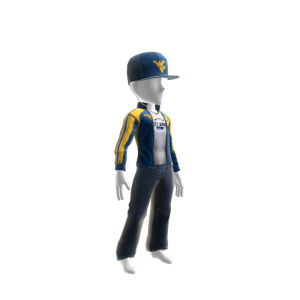 West Virginia Track Jacket and Hat