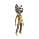 Cat Gold Pajamas Dressup