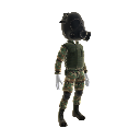 Deadlight - Uniforme militar de los 80