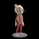 Strój maskotki — mysz