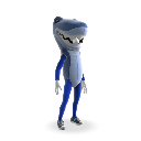 Tenue mascotte requin