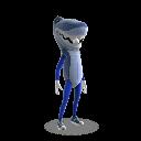 Shark Mascot Outfit