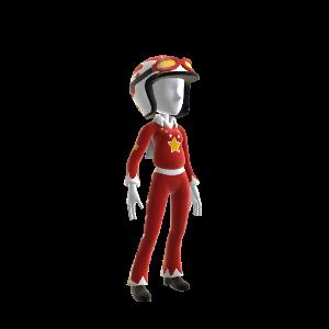 Klassisches Joe Danger-Outfit