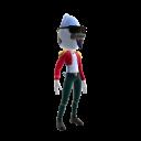 Mordecai Rockstar Costume