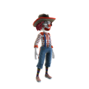 Costume clown de rodéo