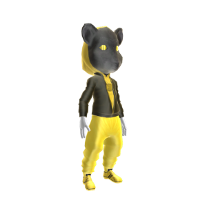 Gold Hip Hop Hamster