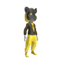 Gold Hip Hop Hamster