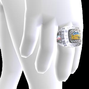 Nuggets Championship Ring