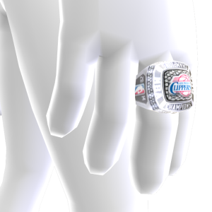 Clippers Championship Ring