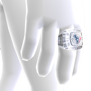 Houston Championship Ring
