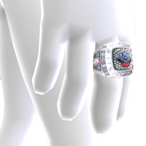Pelicans Championship Ring