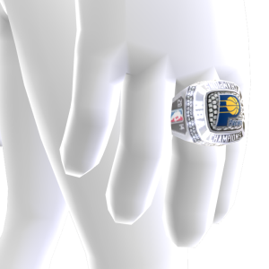 Pacers Championship Ring