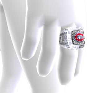 Canadiens Championship Ring