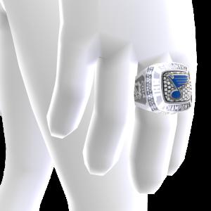 Blues Championship Ring