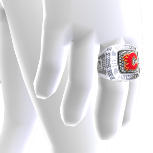 Flames Championship Ring