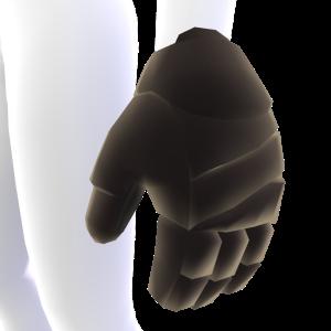 Black Hockey Gloves