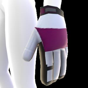 Battle Gloves - Pink White