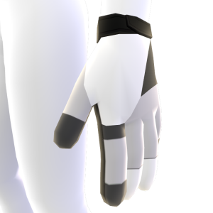Batting Gloves - White
