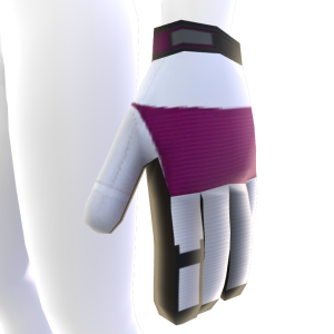 Battle Gloves - Pink White